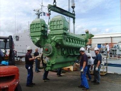 Fieldservice engineer scheepvaart